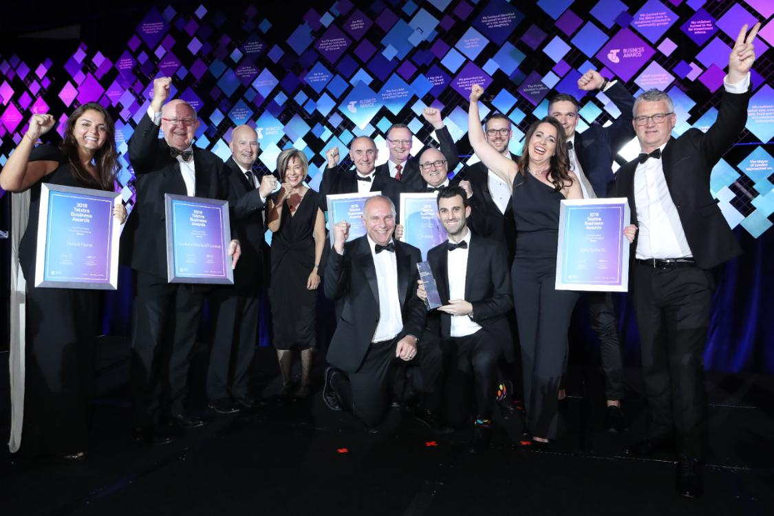 Seven times a finalist, Booktopia has taken the top prize in the 2018 Telstra NSW Business Awards.