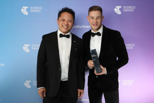 Happy Way – winners of the 2018 Telstra South Australia Business of the Year.