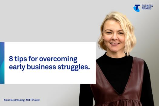Axis Hairdressing owner and 2019 Telstra Business Awards ACT finalist Nicole Dwight