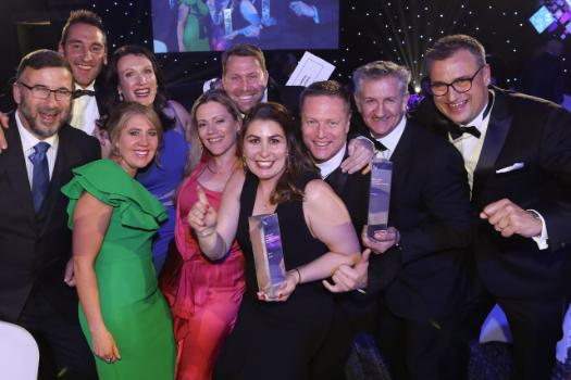 Cyber security firm, Penten, celebrates winning the 2018 Telstra Business of the Year Award.