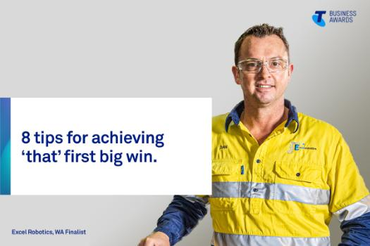 Excel Robotics owner and 2019 Telstra Business Awards WA finalist Dan Leech