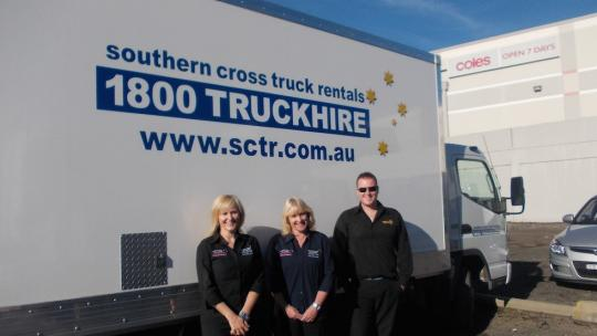 southern cross truck rentals