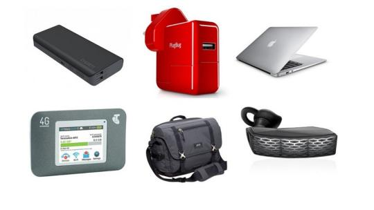 six different technology gadgets