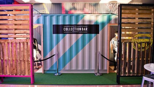 the collection bar retail store