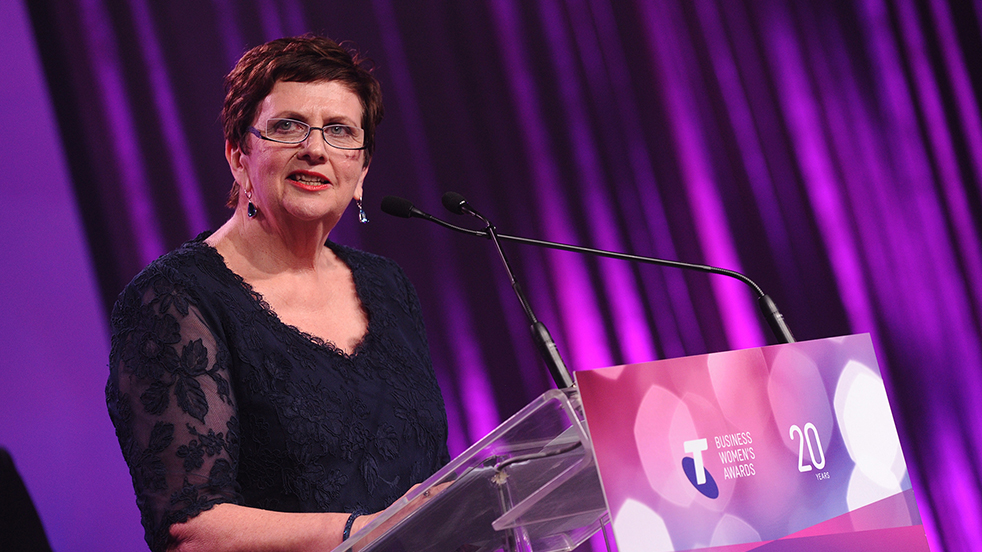 Telstra Business Woman of the Year 2014 Anne Cross UnitingCare Queensland