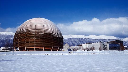 Super Collider in the snow