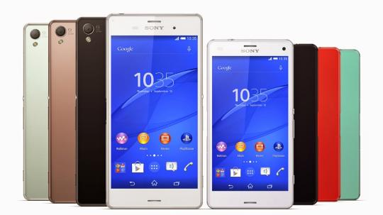 Sony Xperia Z3 and Z3 Compacts