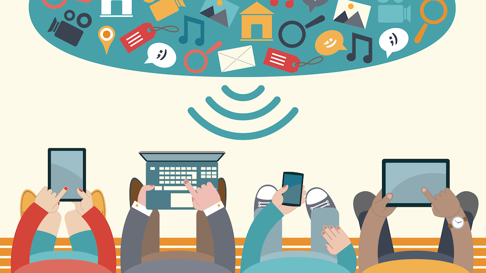 technology daily cartoon using transforming trends lives impact technological emerging department welcome business devices example