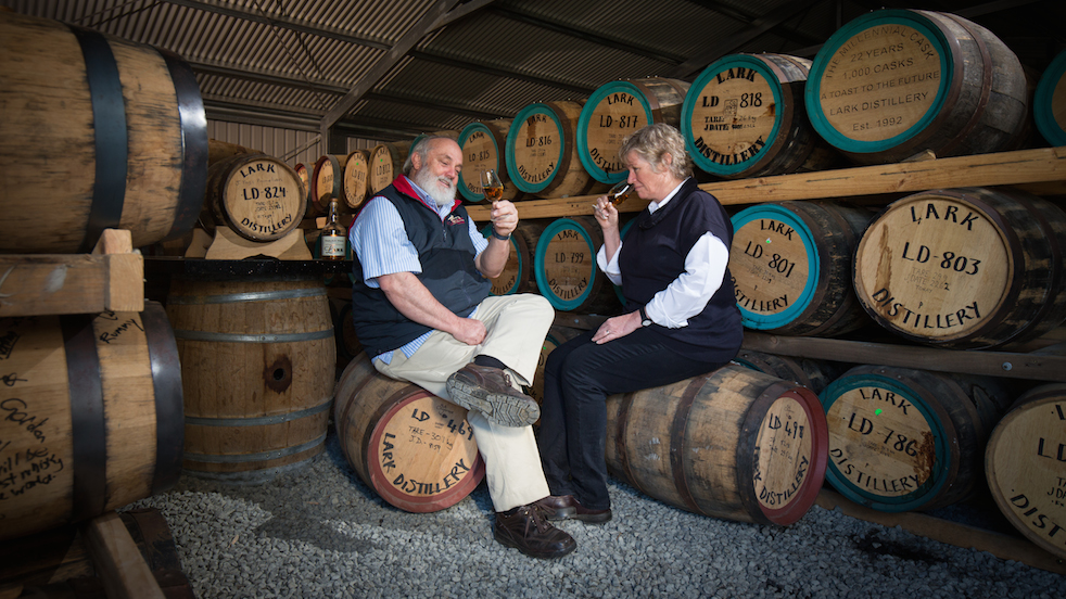 Lark Distillery founders