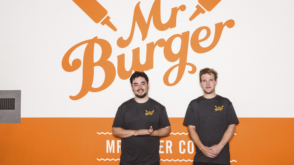 Mr Burger food van