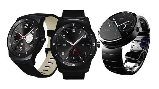 LG G Watch R and Moto 360