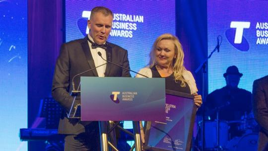 Telstra Business Of The Year Winner Executive Risk Solutions