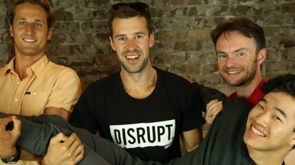 Gary Elphick and the team from Disrupt Sports