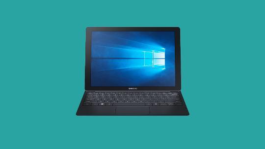 Samsung TabPro S tablet and laptop