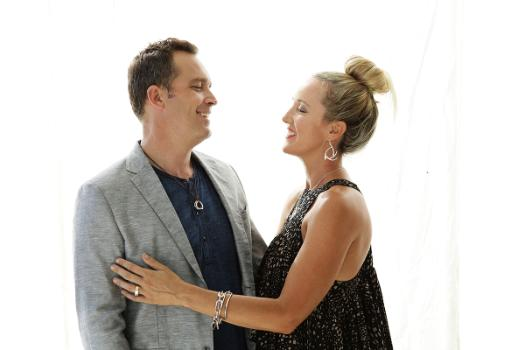 Kate Sutton and husband Adam Simpson, working partners in UberKate.