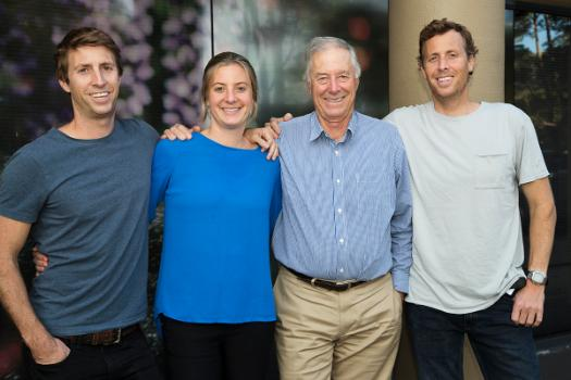 Hoselink founders, Ben Kierath, Sally Benney, Tim Kierath and James Kierath.