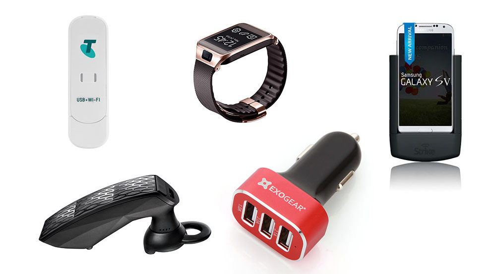 tech gadgets to use in the car