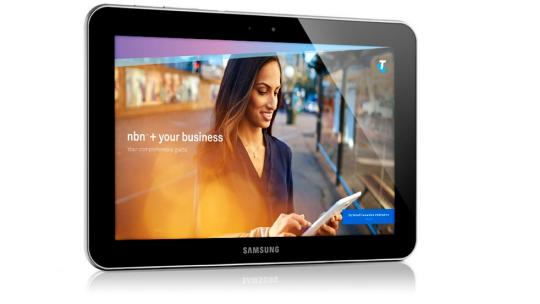the nbn pocket guide displayed on a tablet